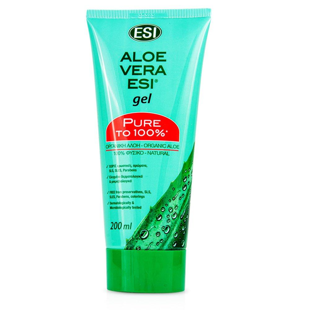 Esi Aloe Vera Gel 100% Pure με Οργανική Αλόη για Ενυδάτωση & Προστασία του Δέρματος 200ml