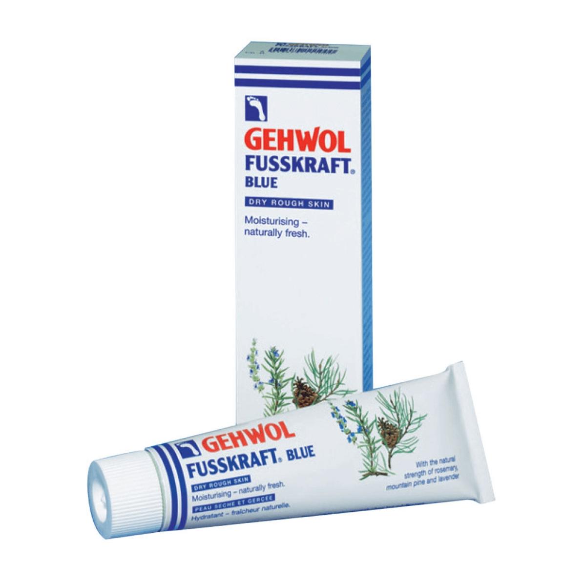 Gehwol Fusskraft Blue Κρέμα ενάντια στο ξηρό και σκληρό δέρμα των ποδιών 75ml