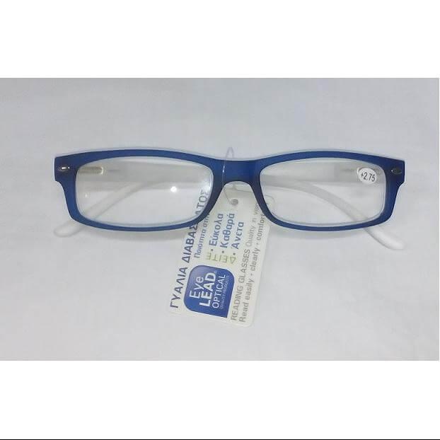 Eyelead Γυαλιά Διαβάσματος Μπλέ Διάφανο Καουτσούκ Ε141 – 2.25