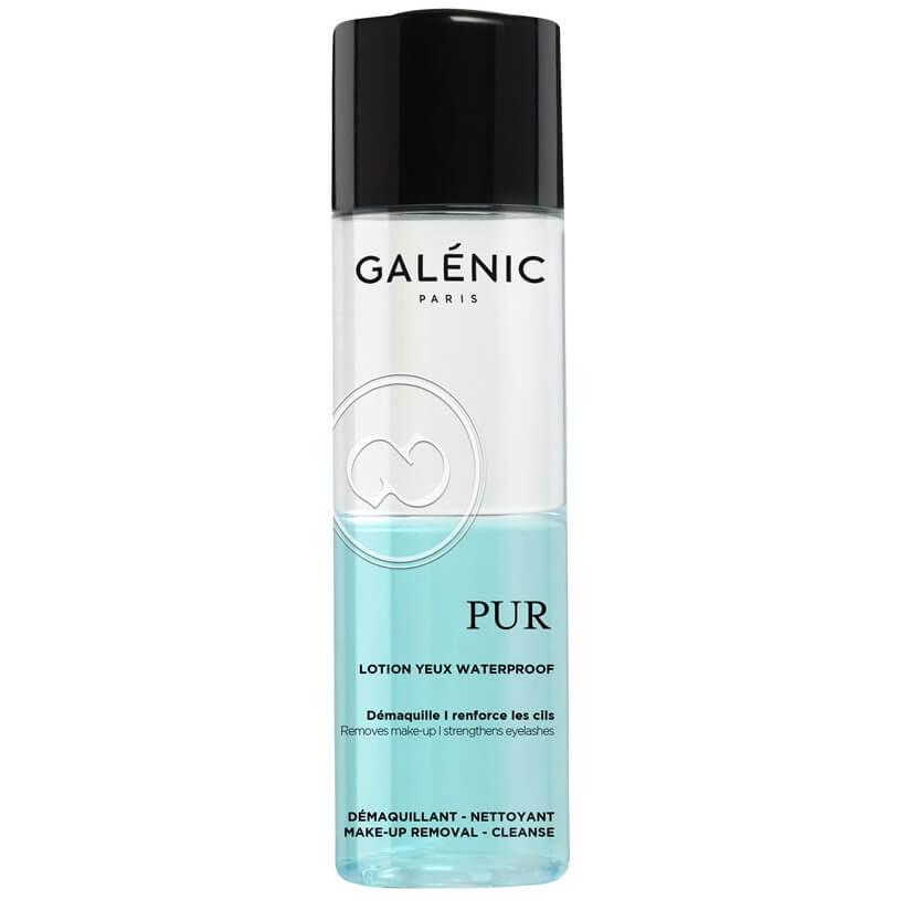 Galenic Pur Lotion Yeux Waterproof Αδιάβροχη Διφασική Λοσιόν για τα Μάτια 125ml