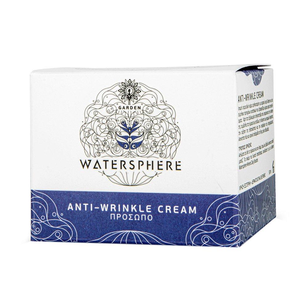 Garden of Panthenols Watersphere Anti-Wrinkle Face Cream Ισχυρή Αντιρυτιδική Κρέμα Προσώπου 50ml