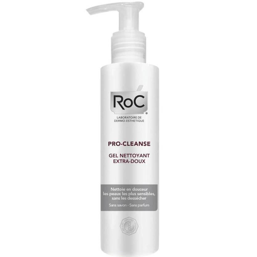 Roc Pro-Cleanse Extra-Gentle Wash-Off Cleanser Πολύ Απαλό Gel Καθαρισμού για Πολύ Ευαίσθητες Επιδερμίδες 200ml