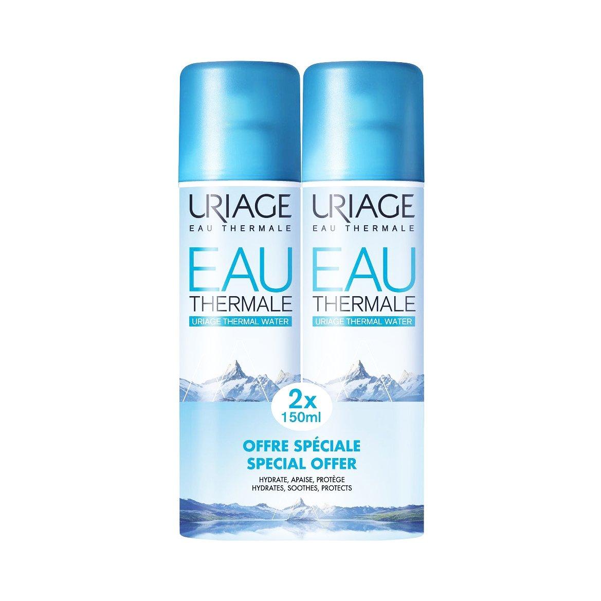 Uriage Promo Eau Thermal Water Σπρέι Ιαματικού Νερού 2x150ml