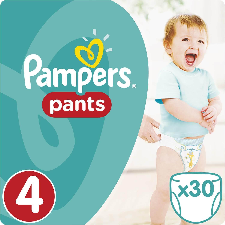 Pampers Pants No4 (9-14kg) 30 πάνες 20484