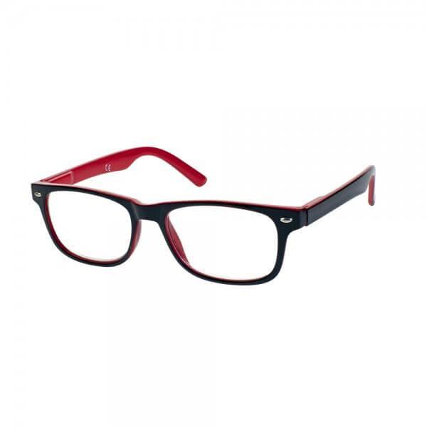Eyelead Γυαλιά Διαβάσματος Μαύρο Κόκκινο E149 – 1,25