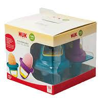 Nuk Mini Ice Lollies Φόρμες Για Γρανίτα 4τμχ