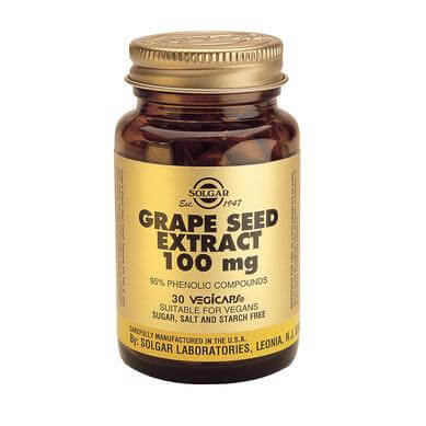 Solgar Grape Seed Extract 100mg 30caps