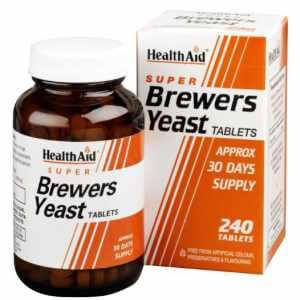 Health Aid Brewers Yeast Μαγιά Μπύρας 300mg – 240 tabs