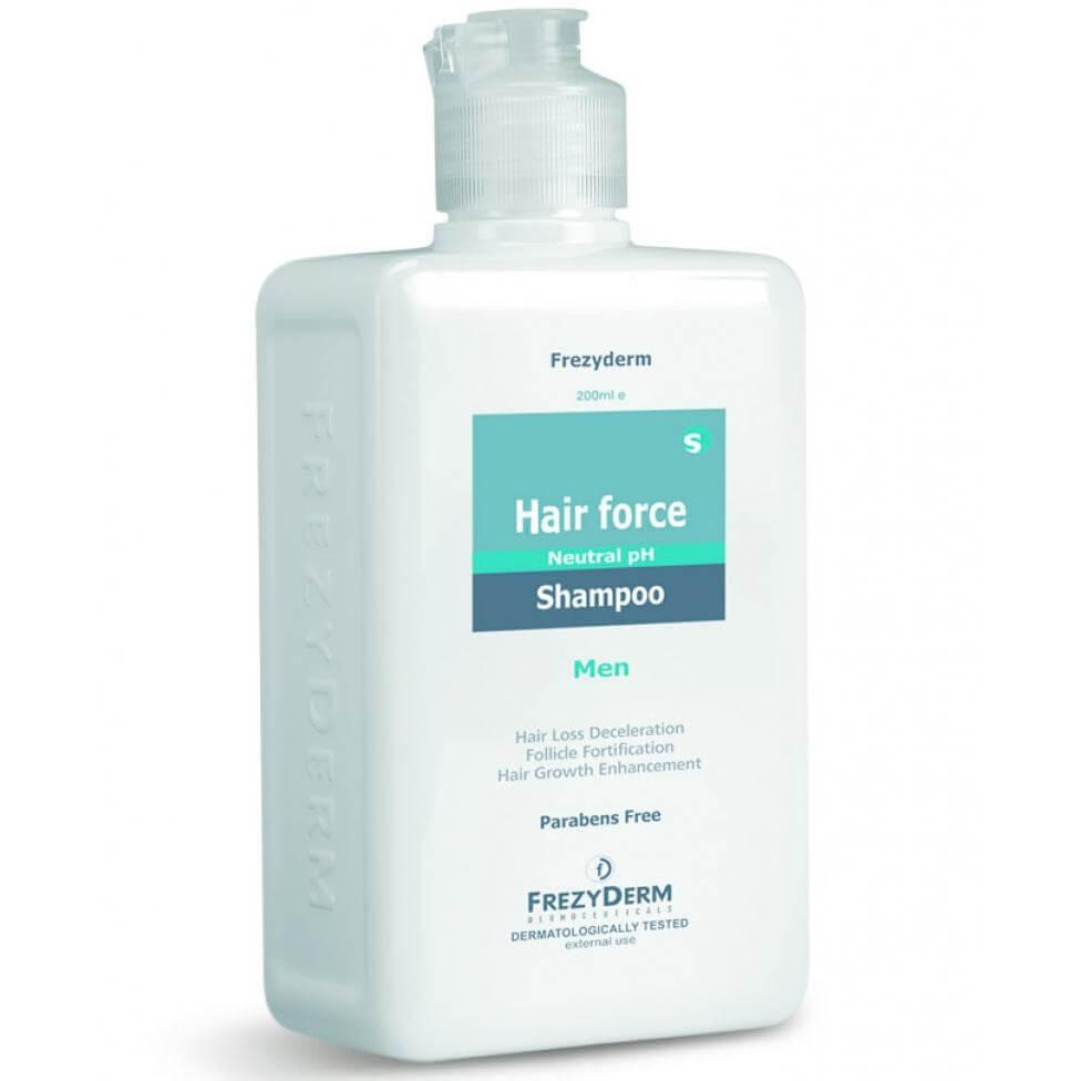 Frezyderm Σαμπουάν Hair Force Shampoo Men Τριχοτονωτικό Σαμπουάν Ειδικά Μελετημέ υγιεινή   μαλλιά   θεραπείες μαλλιών