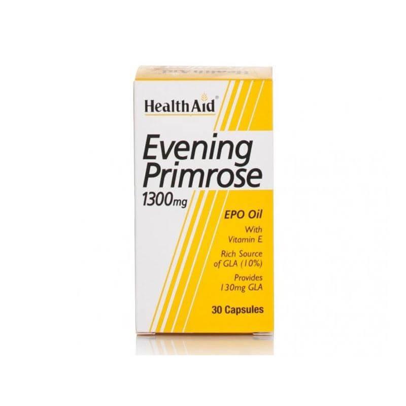 Health Aid Evening Primrose Έλαιο Νυχτολούλουδου 1300mg 30caps