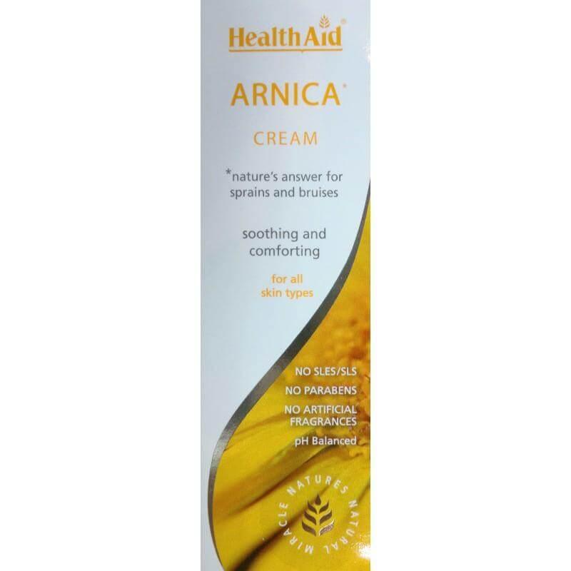 Health Aid Skin Arnica Κρέμα Κατάλληλη Για Σώμα & Πρόσωπο 75ml