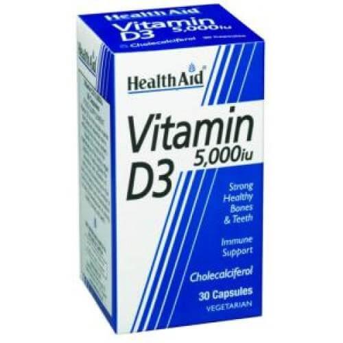 Health Aid Vitamin D3 Προστασία Στο Ανοσοποιητικό 30tabs – 1000iu 30tabs