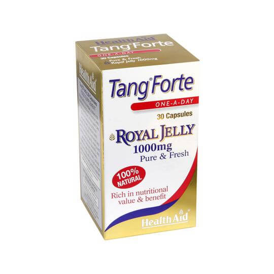 Health Aid Tang Forte Royal Jelly 1000mg Βασιλικός Πολτός Πλούσιος Σε Θρεπτικά Συστατικά 30 tabs