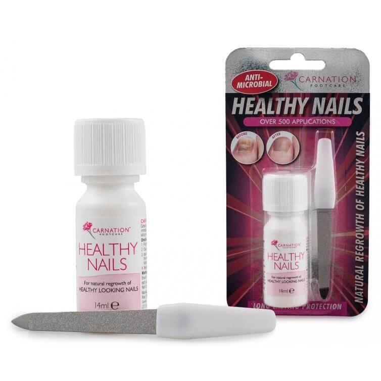Vican Carnation Healthy Nails Με Αντιμικροβιακή Σύνθεση για Υγιή Νύχια 14ml+1ΛΙΜΑ