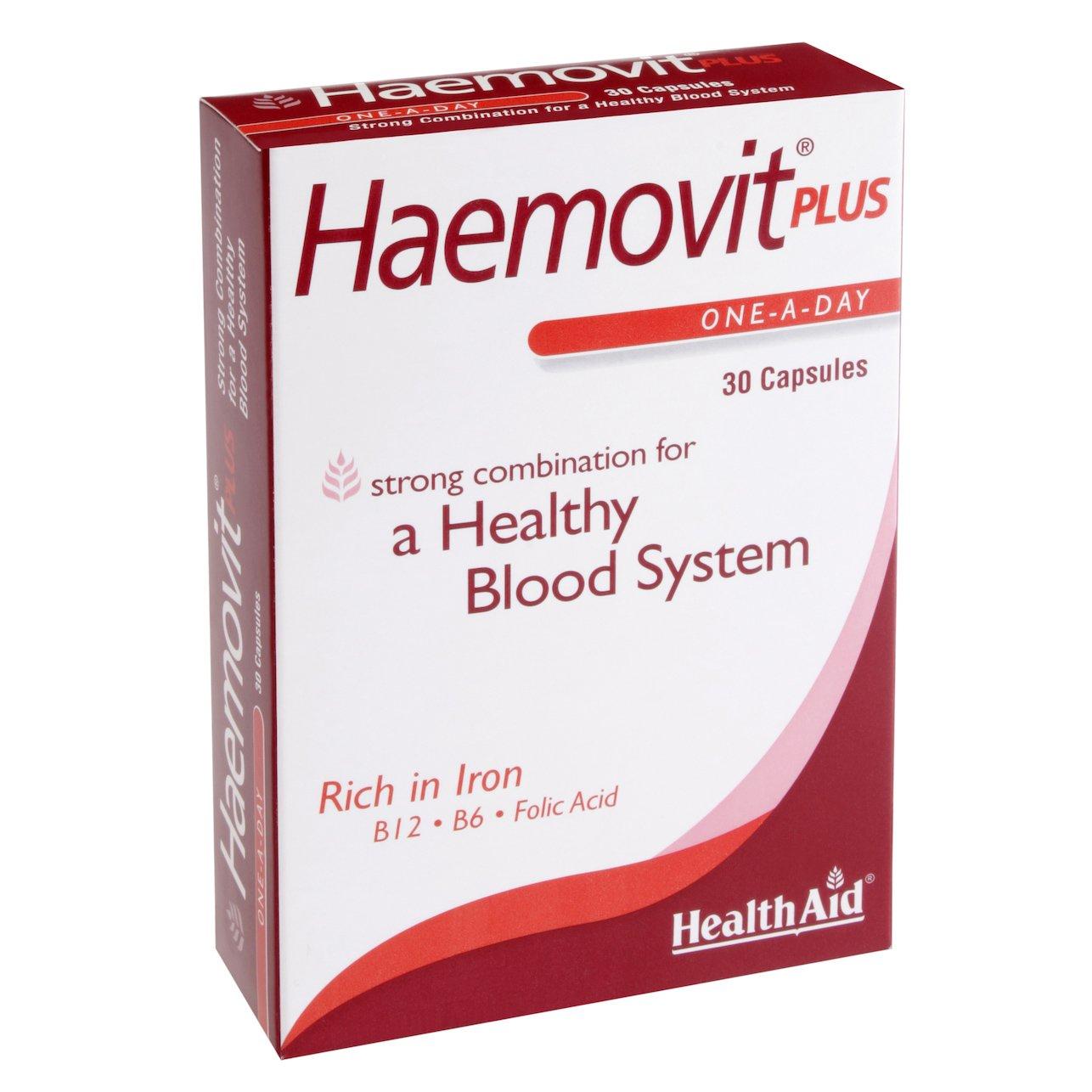 Health Aid Haemovit Liquid Gold Tonic Για Δυνατό Και Υγιές Αίμα 200ml