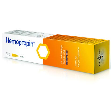 Uplab Hemopropin Αλοιφή για την Επούλωση και την Ανακούφιση των Αιμορροΐδων 20gr