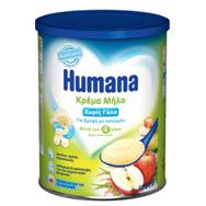 Humana Kρέμα Μήλο , χωρίς γάλα 400gr