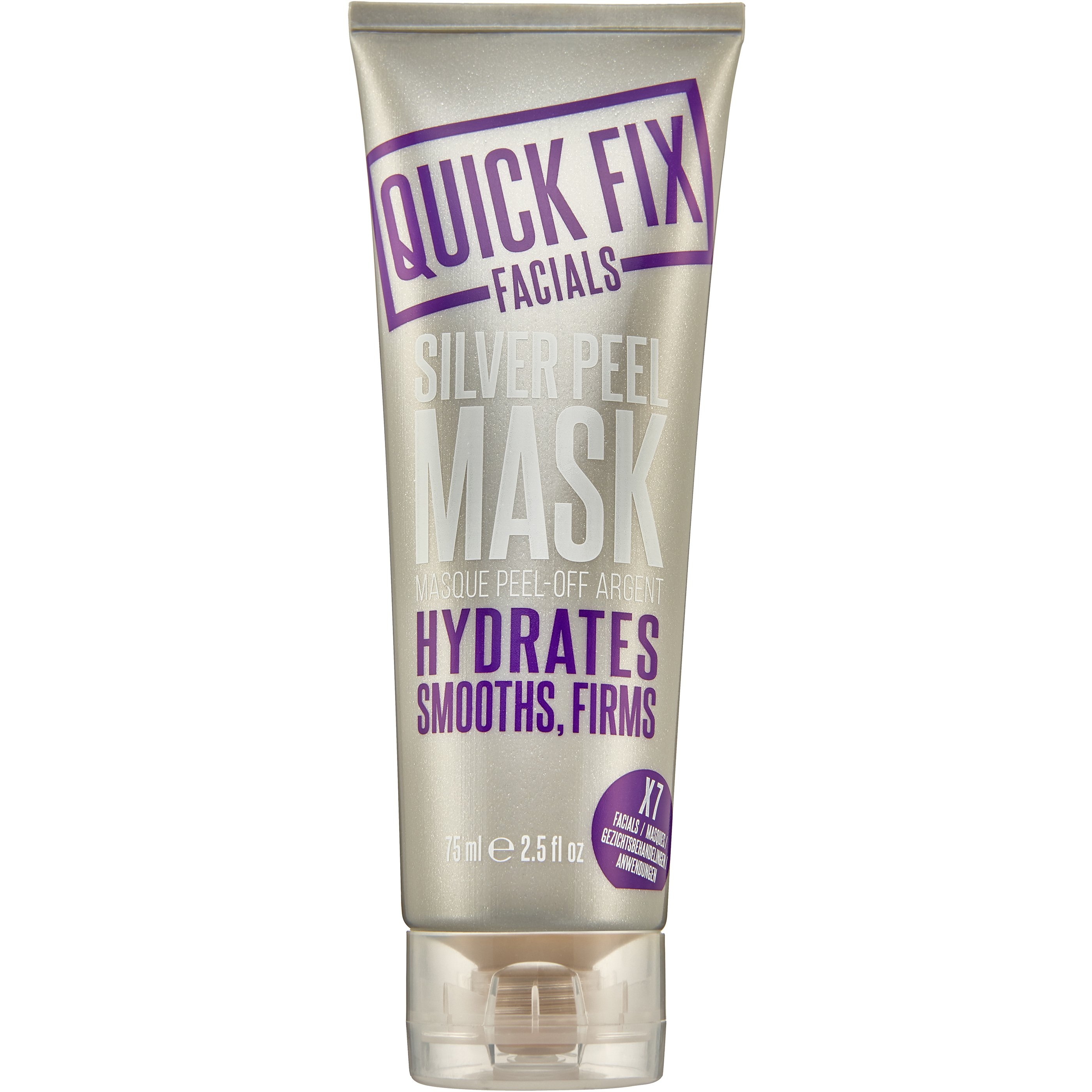 Quick Fix Facials Silver Peel Mask Μάσκα για τις Πρώτες & Ήδη Εγκατεστημένες Ρυτίδες 75ml