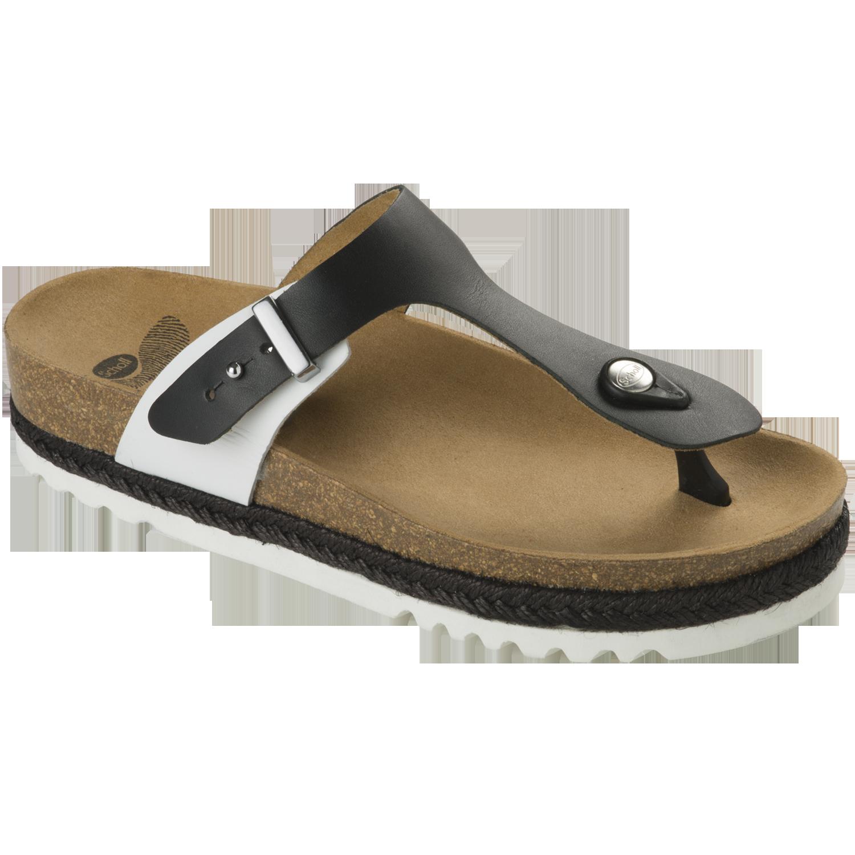 Dr Scholl Shoes Idylla Άσπρο-Μαύρο Γυναικεία Ανατομικά Παπούτσια Χαρίζουν Σωστή Στάση & Φυσικό Χωρίς Πόνο Βάδισμα 1 Ζευγάρι – 41
