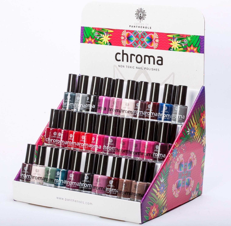 Panthenols Chroma Professional Extra Shine Nail Polish Βερνίκια Νυχιών Εξαιρετικής Ποιότητας 12ml – 854 Nude Beige
