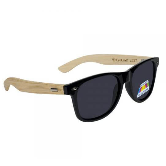 Eyelead Γυαλιά Ηλίου Unisex με Μαύρο – Ξύλινο Σκελετό L627