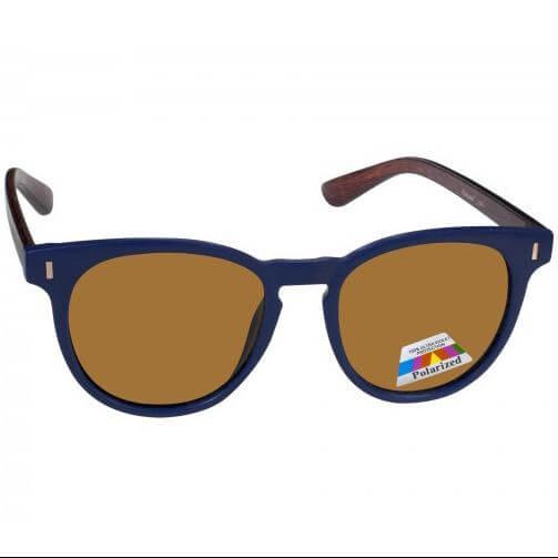 Eyelead Γυαλιά Ηλίου Unisex με Μπλε – Καφέ Σκελετό L640