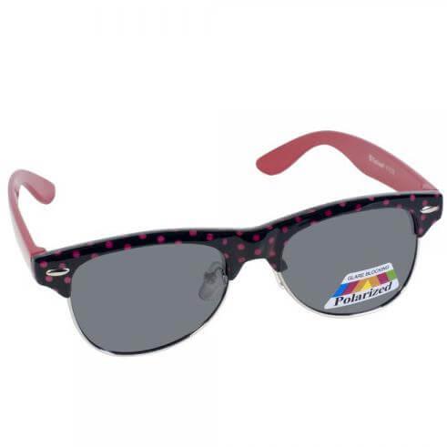 Eyelead Γυαλιά Ηλίου Παιδικά με Μαύρο – Ροζ Σκελετό Κ1032