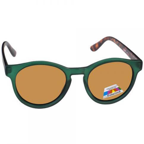 Eyelead Γυαλιά Ηλίου Unisex με Πράσινο – ΚαφέΣκελετό L641