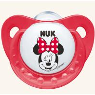 Nuk Trendline Disney Minnie Πιπίλα Σιλικόνης 0-6 Μηνών