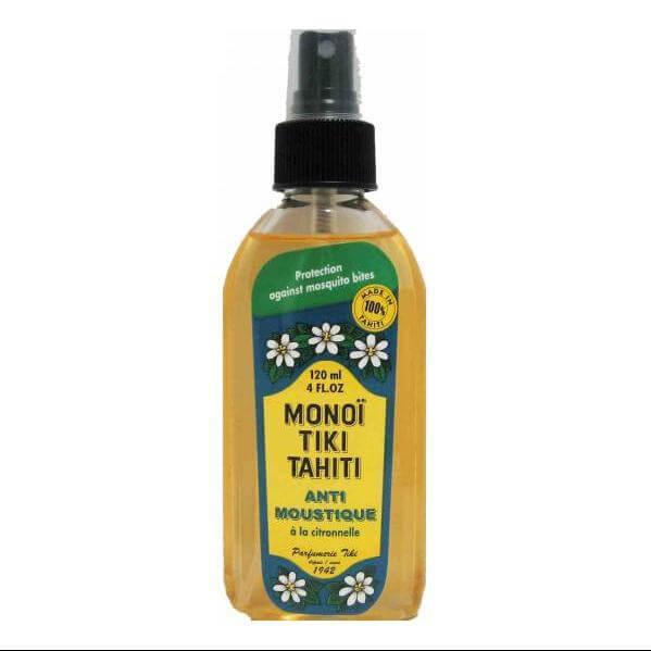 Monoi Tiki Tahiti Anti-MoustiqueLemongrass Αντικουνουπικό Spray με Άρωμα Λεμονόχορτο 120ml