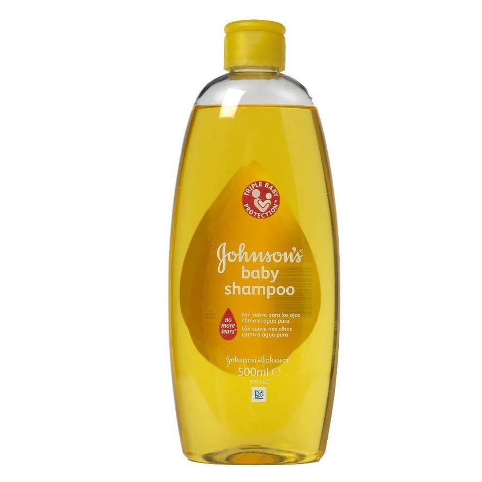 Johnsons Baby Shampoo Σαμπουάν Απαλό και Ήπιο για τα Μάτια Όσο και το Καθαρό Νερό 500ml