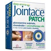 Vitabiotics Jointace Patch Γρήγορη Και Στοχευμένη Υποστήριξη Στις Αρθρώσεις Και Τους Μύες Για 12 Ώρες 8 τεμάχια