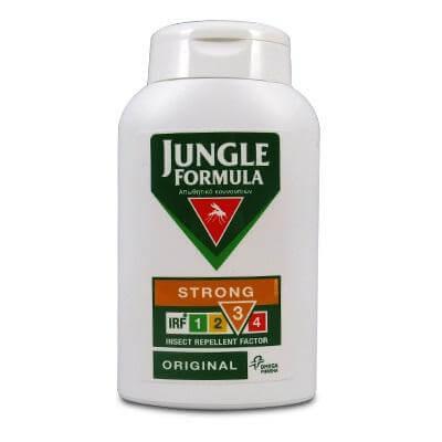 Jungle Formula Strong Original LotionΑντικουνουπική Λοσιόν Για ενήλικες & παιδιά καλοκαίρι   κουνούπια   έντομα   εντομοαπωθητικά γαλακτώματα   spray   βραχιολάκ