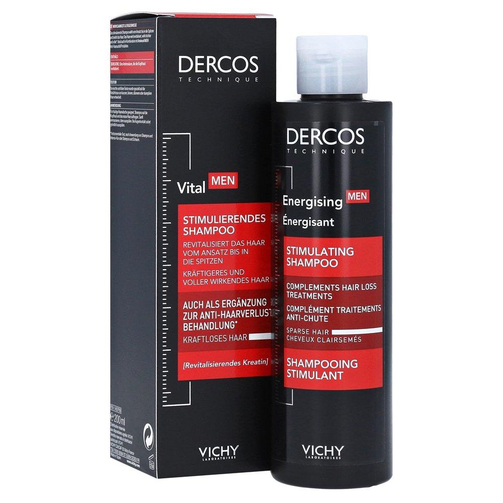 Vichy Dercos Men Aminexil Δυναμωτικό Σαμπουάν 200ml ομορφιά   ανδρική φροντίδα προσώπου   σώματος   καθαρισμός για τον άνδρα