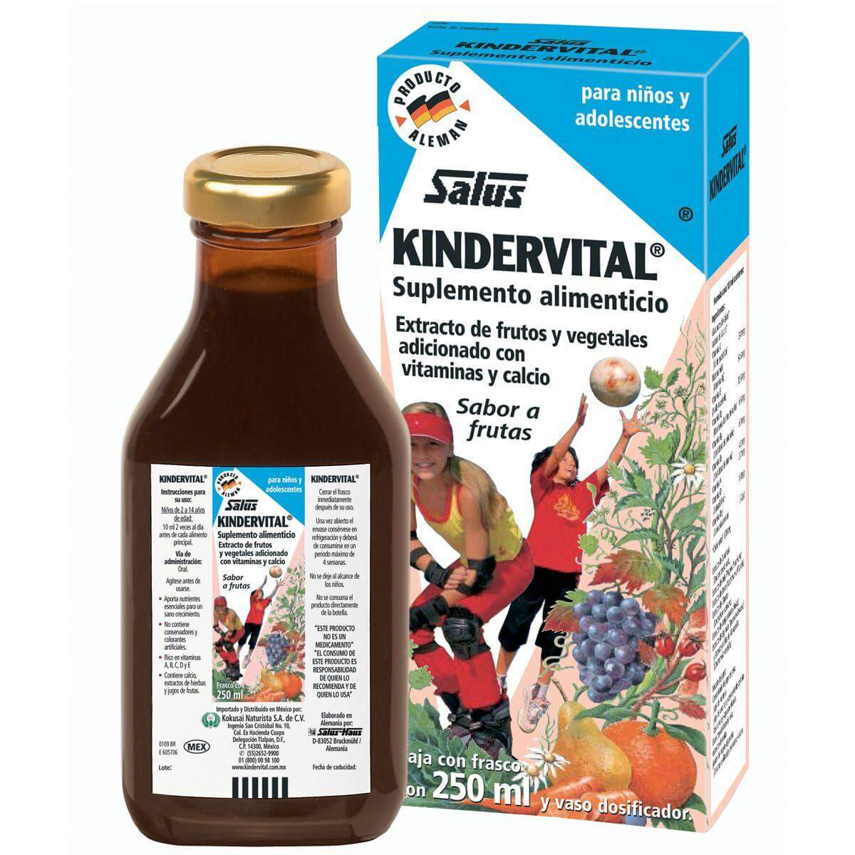 Power Health Floradix Kindervital Απαραίτητο Συμπλήρωμα Διατροφής Για την Ανάπτυξη των Παιδιών 250ml