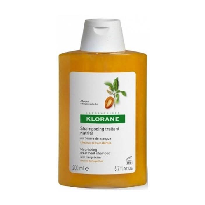 Klorane Mangue Shampoo, Σαμπουάν με Μάνγκο για Ξηρά – Ταλαιπωρημένα Μαλλιά 200ml / 400ml – 200ml