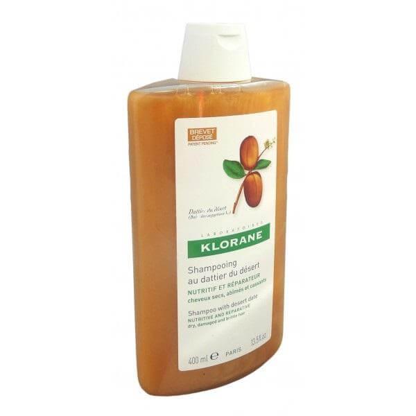 Klorane Desert Shampoo Σαμπουάν Με Χουρμά Για Ξηρά Μαλλιά 400ml