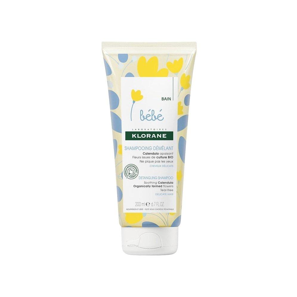Klorane Bebe Shampoo Doux Demelant Προστατευτικό Σαμπουάν για Βρέφη 200ml