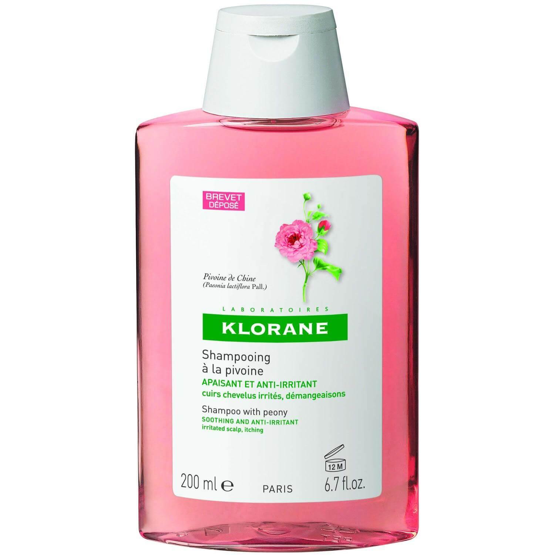 Klorane Pivoine Soothing & Anti-Irritating Shampoo Καταπραυντικό Σαμπουάν με Παιώνια για Ευαίσθητο & Ερεθισμένο Τριχωτό 200ml