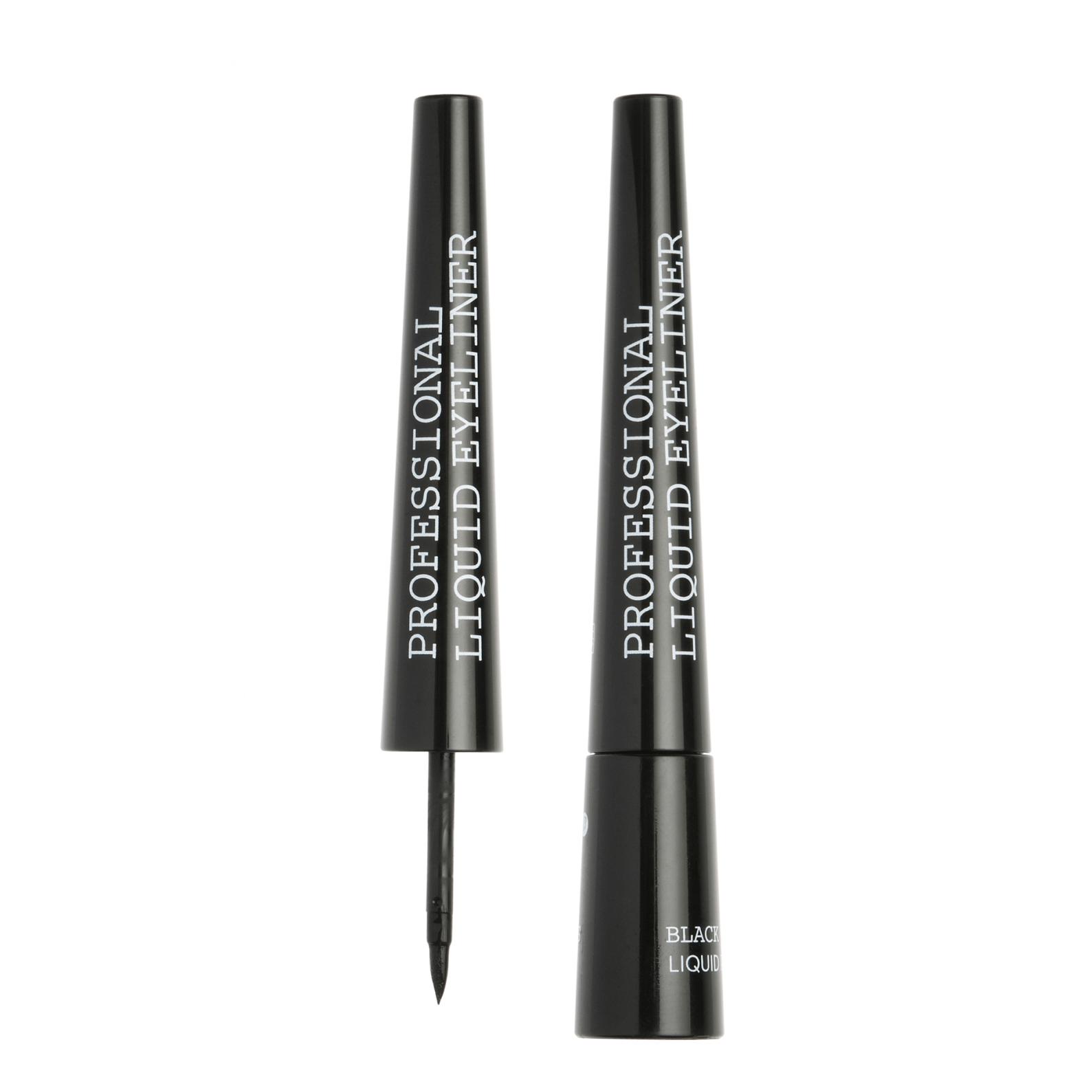 Korres Black Volcanic Minerals Professional Liquid Eyeliner Εντυπωσιακό Χρώμα 2,50ml