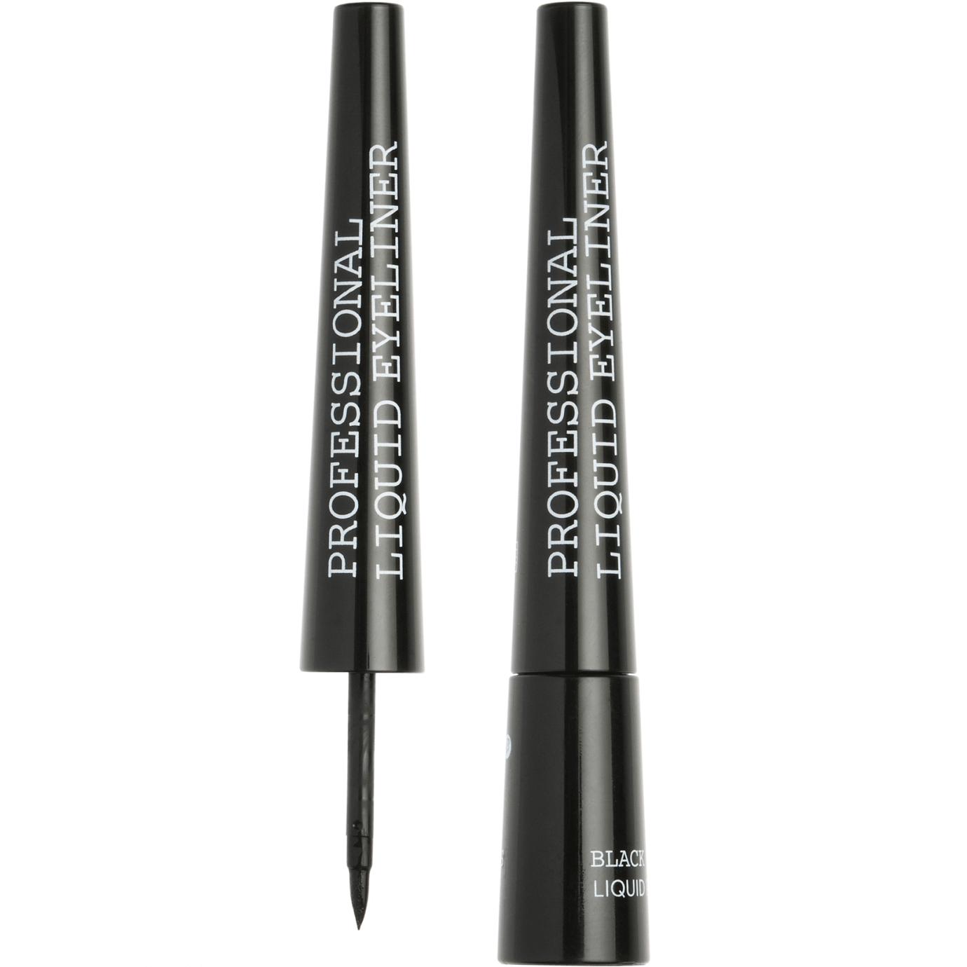 Korres Black Volcanic Minerals Professional Liquid EyelinerΕντυπωσιακό Χρώμα 2,50ml