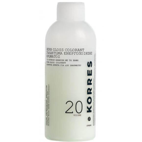 Korres Herb Gloss Color Ενεργοποιητής Developer 120ml – 30