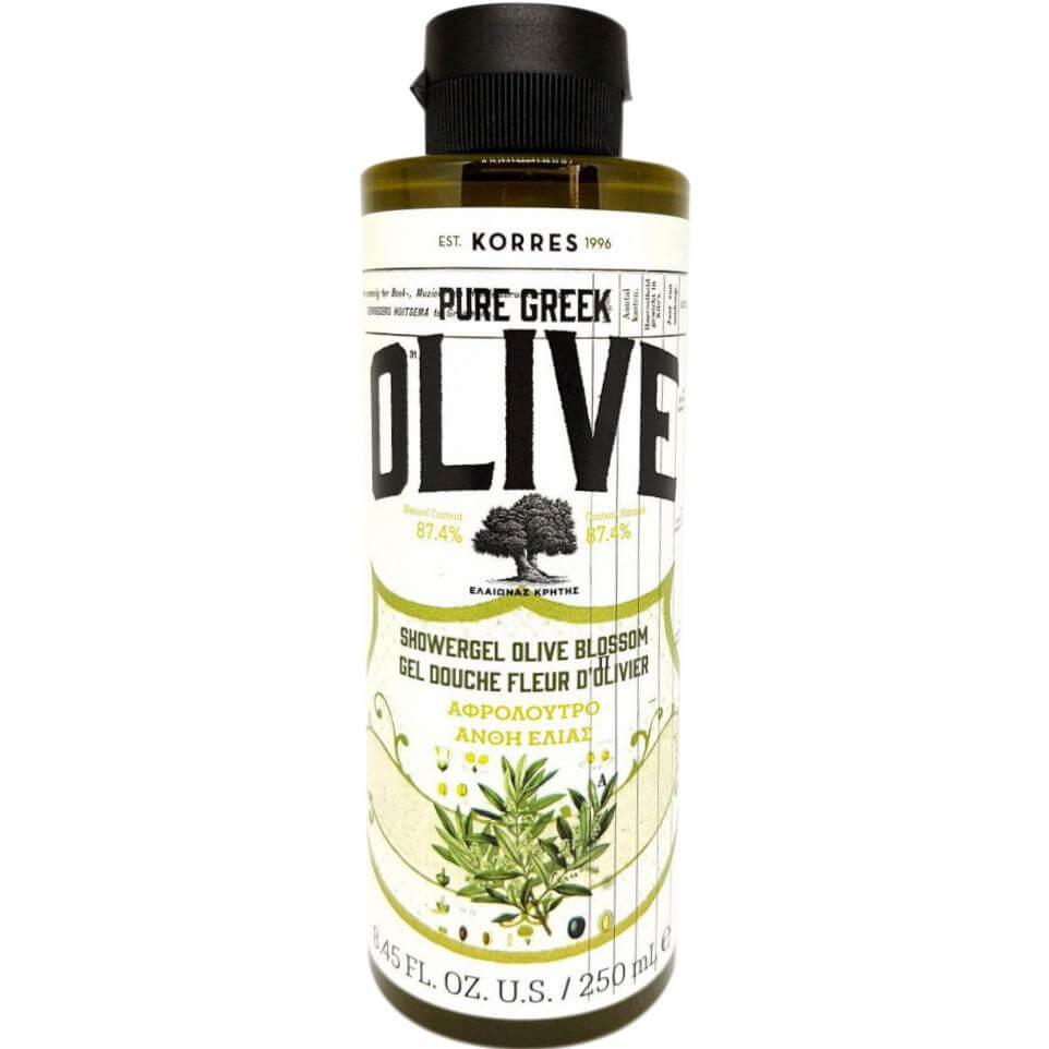 Korres Pure Greek Olive Shower Gel Olive Blossom Αφρόλουτρο με Τονωτικό Εκχύλισμ υγιεινή   σώμα   αφρόλουτρα creme douche