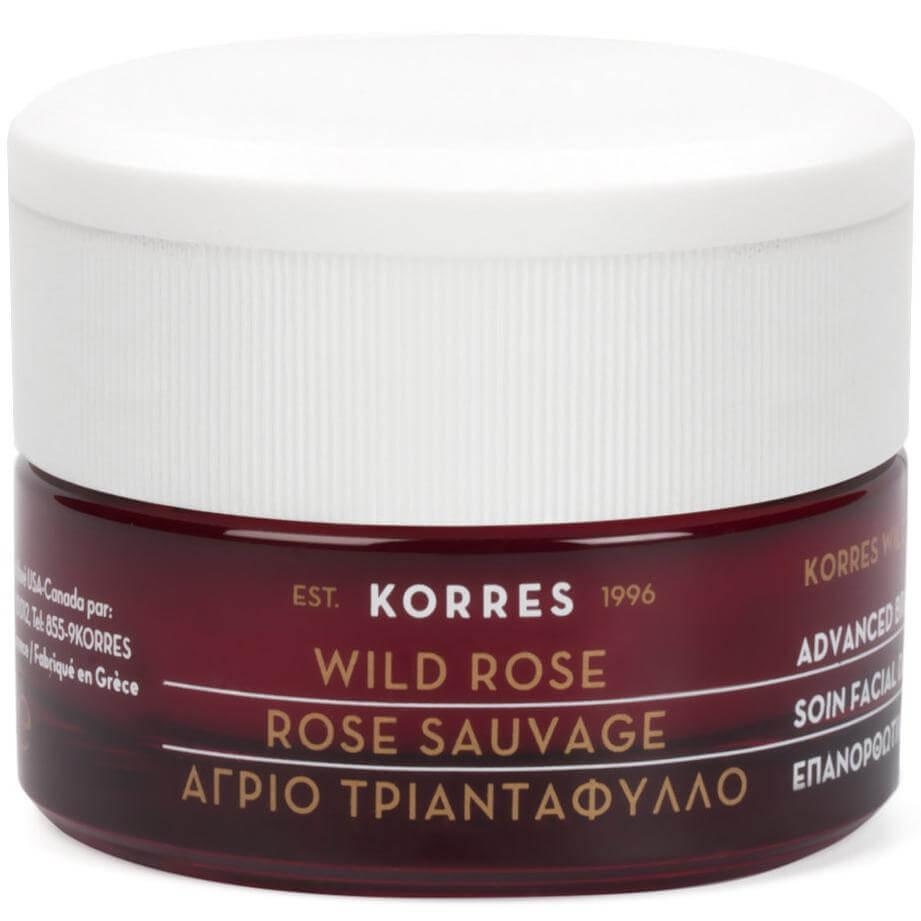 Korres Άγριο Τριαντάφυλλο Advanced Repair Sleeping Facial Mask Επανορθωτική Μάσκα Ύπνου για Όλους τους Τύπους Δέρματος 40 ml