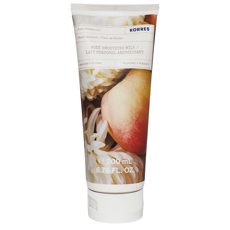 Korres Peach Blossom Body Milk Ενυδατικό Γαλάκτωμα Σώματος με Φρέσκο & Φρουτώδες Άρωμα από Άνθη Ροδακινιάς 200ml