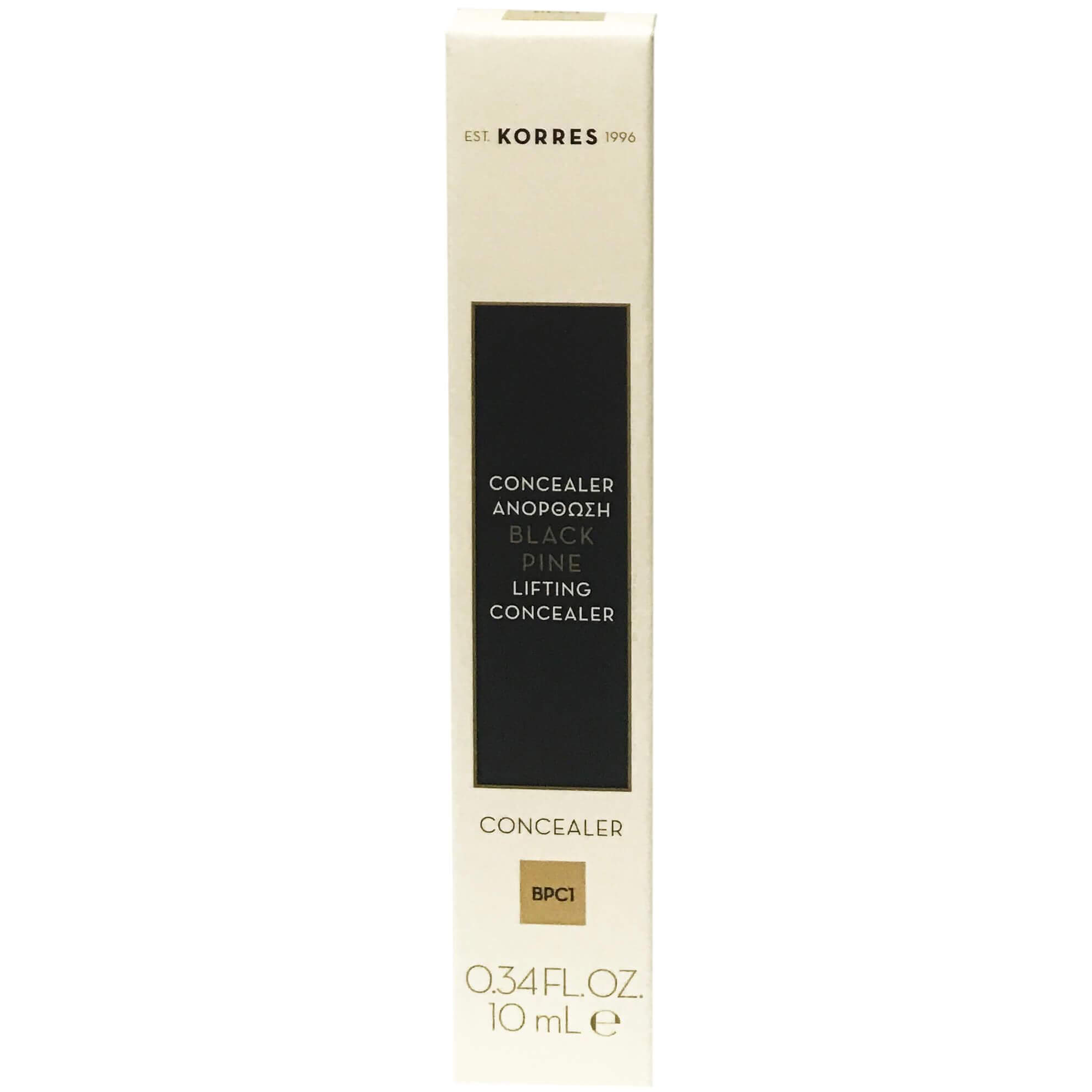 Korres Black Pine Lifting Consealer Ανόρθωσης 10ml – Light