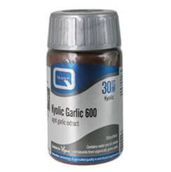 Quest Kyolic Garlic 600mg Αοσμο Σκορδο Ενίσχυση Στο Ανοσοποιητικό 30tabs