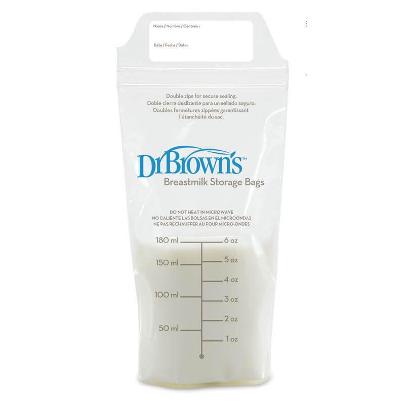 Dr. Brown's 4005-GB Σακουλάκια φύλαξης μητρικού γάλακτος (25 τεμ.)