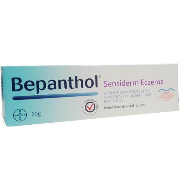 Bepanthol Sensiderm Eczema Κρέμα για Ατοπική Δερματίτιδα/Έκζεμα 50gr