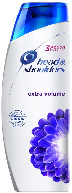 Head & Shoulders Extra Volume Αντιπυτιριδικό Σαμπουάν για Έξτρα Όγκο, 360ml